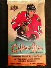 Upper Deck O Pee Chee 2012-13 Hockey Pack Of 6 Cards - Free Shipping On 5 Packs!