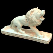 EGYPTIAN LION STATUE, LATE PERIOD 664 - 332 BC (13)