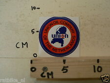 STICKER,DECAL UNION OIL COMPANY OF THE NETHERLANDS