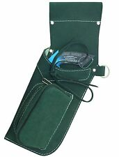 TRADITIONAL FINE SUEDE GREEN SIDE HIP QUIVER ARCHERY PRODUCTS  AQ162  L / HAND
