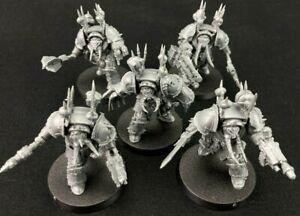 Terminators x5 - Chaos Space Marines - Warhammer 40k
