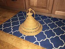 vintage African basket cone Straw Hat sotho khaebana basotho mokorotlo lesotho