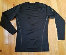 Under Armour Mens Black NEW UA Base Layer 2.0 Technical ColdGear Shirt Large
