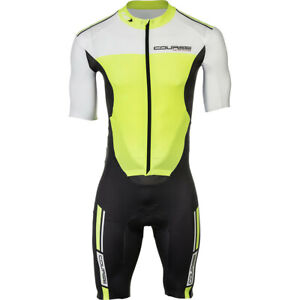 Louis Garneau Course Limited Edition Skin Suit - Yellow / Black XL Extra Large