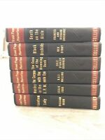 Front Page Mysteries Lot Of 6 - 1940s Collier - Stout, Walling, Gardner | HC Lot