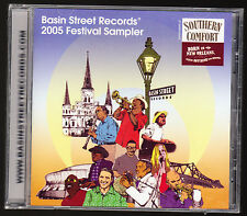 BASIN STREET RECORDS - 2005 FESTIVAL SAMPLER - CD ALBUM - 10 TRACKS - NEW