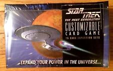 STAR TREK CCG 1E : PREMIERE BETA UNLIMITED WB BOOSTER BOX 36 PACKS SEALED