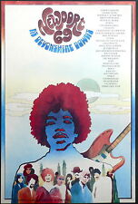 JIMI HENDRIX - HIGH QUALITY 1969 NEWPORT CONCERT POSTER - LOOKS AWESOME FRAMED