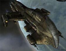 Harbinger Class Battlecruiser Spacecraft Wood Model New