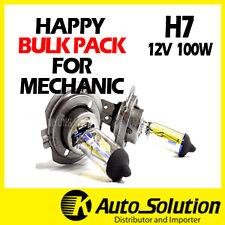 H7 Globes Bulbs Bulk Pack 10PCS 12V 100W Halogen Headlight Yellow Warm White