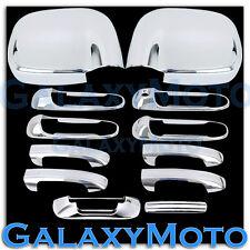 02-08 Dodge Ram Chrome 1500+2500+3500 HD Mirror+4 Door Handle+Tailgate Cover