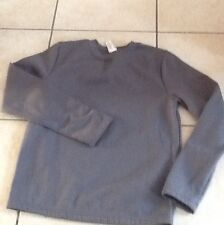 pull 12 ans domyos gris