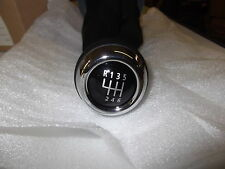 Mini Cooper 2007-2012  R55 R56 R57 R58 Shift Knob With Leather Boot New OEM