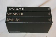 Pimsleur Approach Spanish #1 2 3 -Gold Ed. Comprehensive Courses 48 audio cds