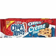 Nabisco Chewy Chips Ahoy Oreo Creme Filled Cookies