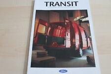 122829) Ford Transit - Kasten - Pritsche - Fahrgestell - Prospekt 02/1993