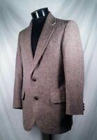 Pendleton Blazer Tweed Wool Brown Men's Size 38