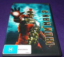 IRON MAN 2 DVD 2 DISC SET 3D / LENTICULAR COVER VGC MARVEL ROBERT DOWNEY JR.