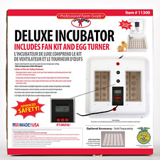 BRAND NEW! Little Giant Digital Circulated Air Incubator with Automatic Turner