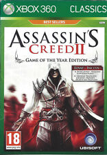 ASSASSIN'S CREED II (2) for Xbox 360 - with box & manual - PAL - GOTY