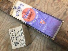 Vintage Rare NOS VALOR  22 WICK & 9002 CARRIER FOR VALOR HEATER 56 106 623R 104