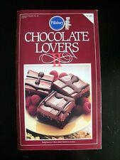 Chocolate Lovers 2 Pillsbury 1985 Vintage Cookbook Recipes