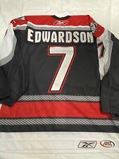 GAME USED GAME WORN AHL PORTLAND PIRATES DEREK EDWARDSON