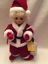 December Calendar Clown Brinn's Christmas Doll Elf 1988 Authenticity Tags