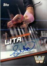 2016 Topps WWE Divas Revolution Autographs #6 Lita Auto /99