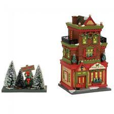 Dept 56 Christmas In The City Village 2017 Kringle & Sons Boutique Set/2 4056624