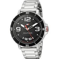 Tommy Hilfiger 1791252 Men's Quartz Stainless Steel Casual Watch,  Black.