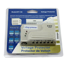 220V 60HZ AC Voltage Protector Brownout Refrigerator Appliance Surge Protector