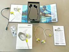 BOSE SOUNDSPORT Wireless Headphones Citron - Pre owned