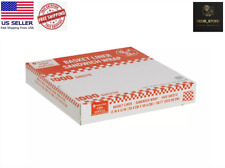 Restaurant Deli Paper Food Basket Liner Wrap 12x12 Red Checkered 1000ct