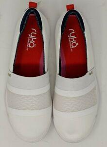Ryka  Women's Olivera White Mesh Lifestyle Size US 8W White