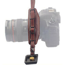 Genuine Leather DSLR Camera Hand Wrist Strap Hand Grip for Canon Nikon Sony