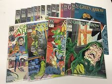 GREEN ARROW #17-34 (DC/1987/VOL1/GRELL/WB TV SHOW/1016113) COMPLETE SET OF 18
