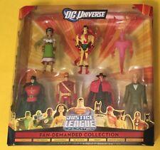 DC UNIVERSE Justice League Unlimited Fan-Demanded Collection Box Set JSA JLU