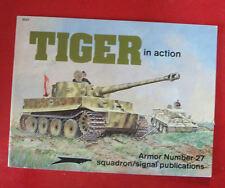 LIVRE CHAR - TIGER IN ACTION de Squadron Signal Publications