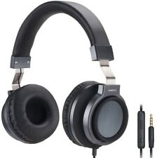 Rasto Rs5 Pure Sound Over-Ear Headphones Headsets for Apple Android - Black