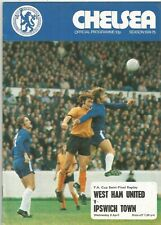 FA Cup Semi-Final Replay 1975 - West Ham United v Ipswich Town at Chelsea