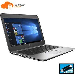 """HP Elitebook 820 G3 12.5"""" Intel i7-6600U @2.60 8GB RAM 256GB SSD Win 10 Laptop b"""