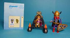 Playmobil Wikinger/Vikings~König & Prinz/Norse King and Prince(3154) & Anleitung