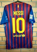 Messi Barcelona Jersey 2011 2012 Shirt S Home 419877-486 Soccer Football Nike