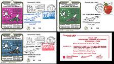 """PE135 FFC Concorde flights Strasbourg-London-Paris """"30 years Rome treaties"""" 1987"""