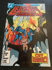 Legends#4 Incredible Condition 9.0(1987) Byrne Art!!