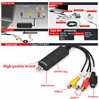 Easycap USB 2.0 TV Video Audio VHS to DVD HDD Converter Capture Card Adapter WZ
