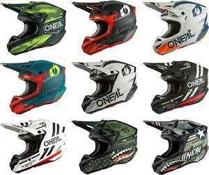 O'Neal 5 SRS Helmet - MX Motocross Dirt Bike Off-Road MTB ATV Adult