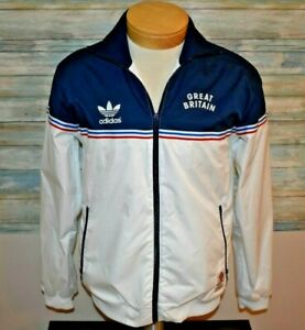adidas GREAT BRITAIN TEAM GB 2012 OLYMPIC Small Full Zip Soccer Jacket