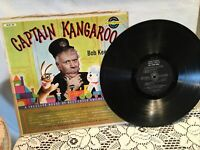 CAPTAIN KANGAROO'S TREASURE HOUSE SONGS LP 33 rpm 1959 Record Golden Records